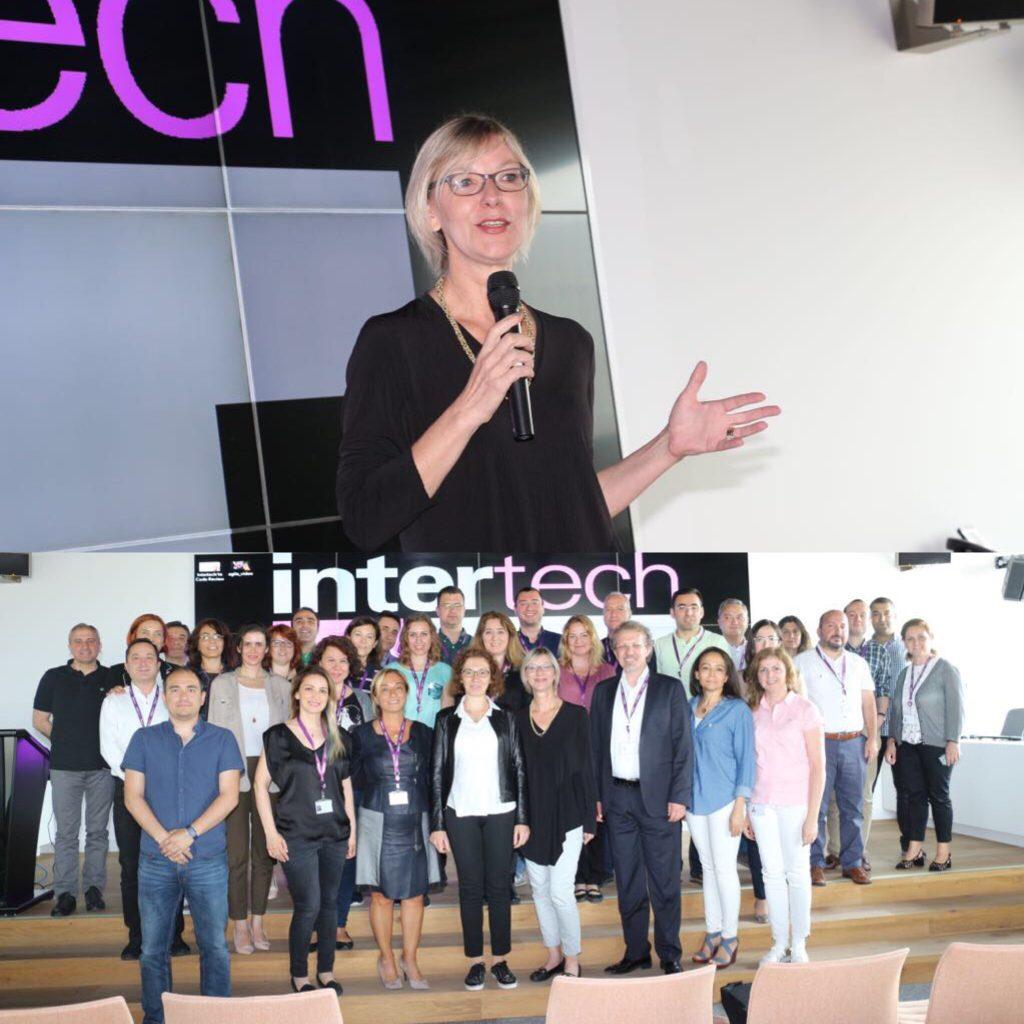 Intertech'te 5 ay süren Bölüm Yöneticiler için Liderlik Programın Kapanış Toplantısı .